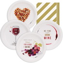 Wine Party Assorted Plates Kit (32)