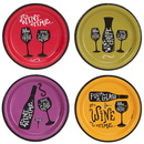Wine Time Party Assorted Plates Kit (32)