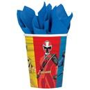 Amscan 260306 Power Rangers Ninja Steel 9oz Paper Cups (8)