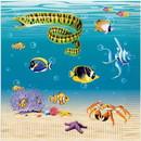 Beistle 260954 Ocean Party Napkins