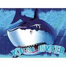 Creative Converting 260994 Shark Invitations