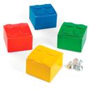 FUN EXPRESS 13706145 Color Brick Party Favor Boxes (12)