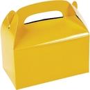 FUN EXPRESS 619513 Yellow Treat Favor Boxes (12)