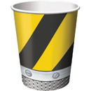 Creative Converting 261894 Construction Zone 9oz Cups (8)