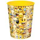 UNIQUE INDUSTRIES 262387 Emoji Smile 16oz Plastic Favor Cup (1)