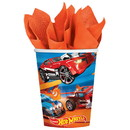 Amscan 262571 Hot Wheels Wild Racer 9oz Cups (8)