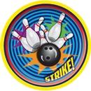FORUM NOVELTIES 72424 Bowling Luncheon Plate (8)