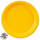 Creative Converting 263549 Dinner Plate - Yellow (48)
