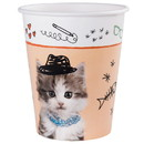 Birth5000 264116 Rachael Hale Cats Rule 9oz Paper Cups (8)