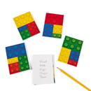 Fun Express 264297 Color Brick Party Notepads (24) - 2pks/12