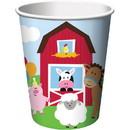 Creative Converting 264373 Farmhouse 9oz Cups (8 Pack)
