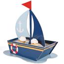 Fun Express 264408 Nautical Sailboat Cupcake Holder