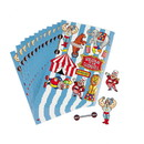 Fun Express 264613 Under the Big Top Sticker Sheets