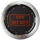 Top Secret Spy Dessert Plates (8)