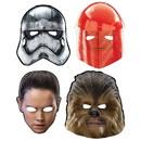Amscan 264892 Star Wars Episode VIII: The Last Jedi Paper Masks