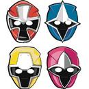 Amscan 265179 Power Rangers Ninja Steel Paper Masks(8)