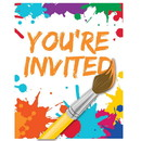 Creative Converting 265433 Art Party Invitations(8)