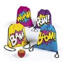 Fun Express 265582 Superhero Girl Drawstring Backpacks(12)
