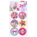 Amscan 265764 JoJo Siwa Sticker Sheets (4)