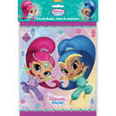 UNIQUE INDUSTRIES 265931 Shimmer and Shine Loot Bags (8 Count)