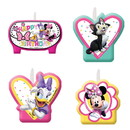 Amscan 266128 Minnie Mouse Helpers Candles