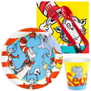 Birthday Express 266616 Dr. Seuss Snack Pack 16 Guest - Multi-colored