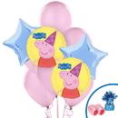 Peppa Pig Balloon Bouquet