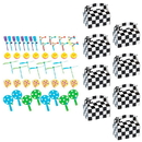 Racecar Racing Party Favor Kit (For 8 Guests)