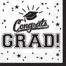 Graduation Lunch Napkins White (36 Count)