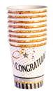 Forum Novelties 268653 Congratulations Paper 9oz Cups (8)