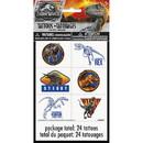 UNIQUE INDUSTRIES 268765 Jurassic World 2 Tattoo Sheet