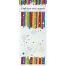 UNIQUE INDUSTRIES 269268 Rainbow Ribbons Birthday Cello Bag 5