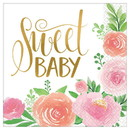 Amscan 269722 Floral Baby Lunch Napkin (16)