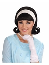 Forum Novelties 270742 1950s Wig W/detachable Headband - Black