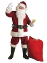 Rubies Costume 270871 Crimson Regal Plush Adult Santa Suit XXL