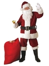 Rubies Costume 270872 Crimson Regal Plush Adult Santa Suit XL