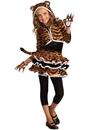 Rubies 271171 Tigress Hoodie Child Costume L
