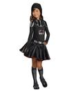 Rubies 271230 Star Wars Darth Vader Girls Child Costume M