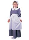 Rubies 882623L Colonial / Pilgrim Girl Child Costume - Large