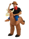 Rubies 271410 Bull Rider Inflatable Adult Costume One Size