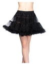 Rubies 271655 Layered Tulle Adult Petticoat - White