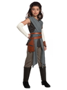 Rubies 271799 Star Wars Episode VIII - The Last Jedi Deluxe Girl's Rey Costume M
