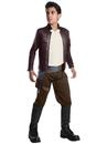 Rubies 271803 Star Wars Episode VIII - The Last Jedi Deluxe Boy's Poe Dameron Costume L