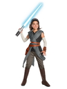 Rubies 271810 Star Wars Episode VIII - The Last Jedi Super Deluxe Girl's Rey Costume S