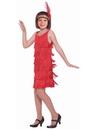 Forum 271932 Red Flapper Child Costume M