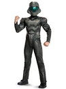 Disguise 272268 Spartan Buck Classic Muscle Child Costume L