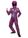 Disguise 272361 Pink Ranger Movie 2017 Deluxe Child Costume S