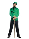 Rubies 272390 Batman: Gotham City Most Wanted - The Riddler Adult Costume L