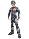 Rubies 272415 DC Comics Cyborg Deluxe Child Costume S