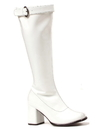 Ellie Shoes 273712 White Adult Gogo Boots 9